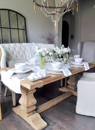 Ballard Designs Easter Decorating Entertaining Spaces Shabby Chic Dining Room