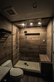 Spa Showers Contemporary Spa Bathroom With Heated Shower Bench