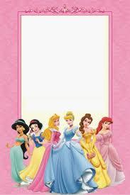 Free Printable Disney Princess Ticket Invitation Template Ticket