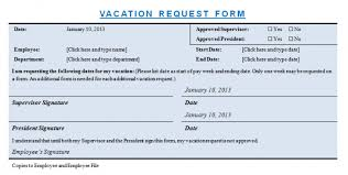 Employee Personal Leave Request Form Template - Evpatoria.info
