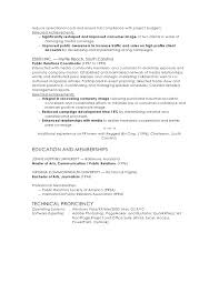 Examples Of Public Relations Resumes Public Relation Manager Resume Magdalene Project Org