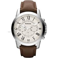 "men s fossil grant chronograph watch fs4735 watch shop comâ""¢ mens fossil grant chronograph watch fs4735"