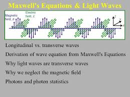 maxwell s equations light waves