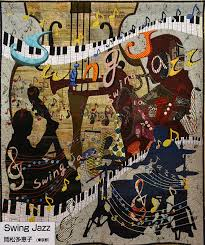 swing jazz by otsu photo luana rubin at 2016 tokyo quilt festival