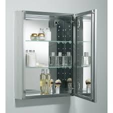 18 X 24 Medicine Cabinet 20 X 26 Aluminum Mirrored Medicine Cabinet Reviews Allmodern