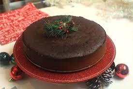 Jamaican Christmas Black cake Rum cake