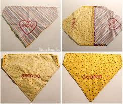 diy personalized dog bandana sewing embroidery tutorial
