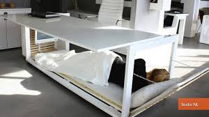 Convertible Desk Bed Convertible Napping Desk Helps You Sleep On The Job Youtube