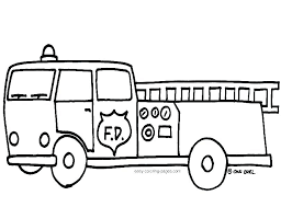 Fire Engine Coloring Pages Fire Truck Pictures To Color Fire Truck
