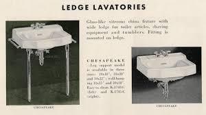 vintage bathroom sinks the seven