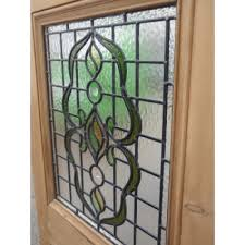 stained glass entrance doors original stained glass
