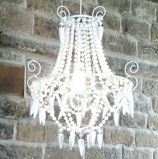 chandeliers white bead chandelier white wood bead chandelier white beaded chandelier australia