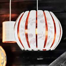 ikea overud pendant lamp rosegold chandeliers ceiling light lamp shade w wo cord