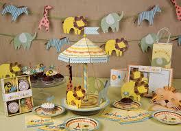 Jungle Decoration Baby Shower Safari Theme Decorations Baby Shower Diy