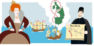 bbc bitesize ks history the spanish armada revision   king philip english spanish ships and the route of the failed