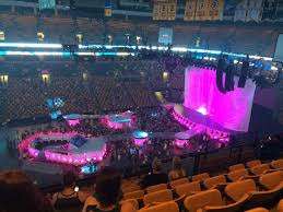 concert seat view for td garden section 302