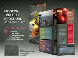 Indesign A4 Tri Fold Brochure