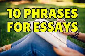 Phrases For Essays 10 English Phrases To Express Your Opinion In An Essay Espresso