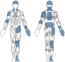 Injury Location Chart Body Map Injuries Bodymotion Spine Sports Injuries Clinic