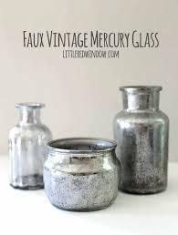 mercury glass bottles faux vintage mercury glass tutorial gold mercury glass vase diy