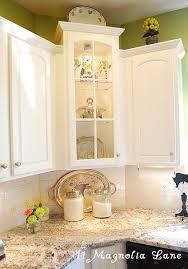 corner kitchen furniture. traceyu0027s fabulous kitchen makeover with glass cabinet doorscorner corner furniture d