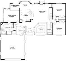 ranch house floor plans. Groovy Small Ranch Floor Plans House Plan Ottawa 30 601 Free Home Designs Photos