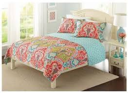 Best 25+ Coverlet bedding ideas on Pinterest | Bedding master ... & Full-Queen 3-Piece Aqua Teal Multi-Color Damask Quilt Shams Set Coverlet  Bedding Adamdwight.com