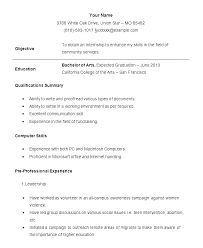 How Do I Make A Resume With No Work Experience Awesome Sample Resume Work Experience Format College Student Resumes Samples