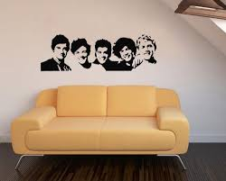 One Direction Bedroom Decor Online Get Cheap Wall Decal One Direction Aliexpresscom