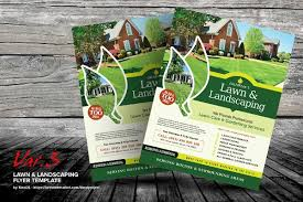 Sample Flyers For Landscaping Business 16 Landscaping Flyers Psd Ai Eps Free Premium Templates