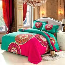 bedding bohemian sets queen cotton in duvet cover decorating moroccan set uk style bedclothes pertaining to