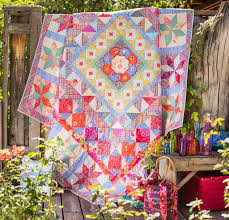 Handkerchief Corners quilt by Karen Mundt at Little Birdie ... & Handkerchief Corners quilt by Karen Mundt at Little Birdie Quilting Studio.  Design by Kaffe Fassett, on the cover of his book 'Passionate Patchwor… Adamdwight.com