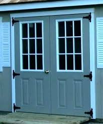 exterior double doors for sheds exterior double doors for shed a photo 1 of 4 fiberglass exterior double doors for sheds
