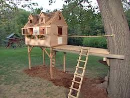 houselans free standing tree basic treehouse simple for building