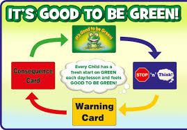 Printable Red Light Green Light Behavior Chart Good To Be Green Behaviour Management Scheme In School