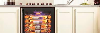 wine coolers refrigerators