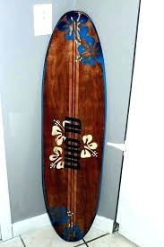 surfboard wall decoration wonderful surfboard wall art