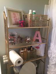 apartment bathroom decor. Exellent Bathroom Kate Spade Inspired Bathroom Organization Lilly Pulitzer Bathroom Pink  And Gold Decor  Small Space  Intended Apartment Bathroom Decor