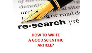 Image result for How to Write a Good Scientific Journal