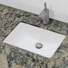 undermount vanity sinks. Save. DECOLAV. Classically Redefined Callensia Ceramic Rectangular Undermount Bathroom Sink Vanity Sinks