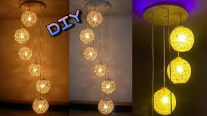 homemade lighting ideas. Homemade Lighting. How To Make A Wrapped Balloon Lamp   Diy Easy Lighting Ideas I