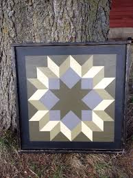 831 best Barn Quilts images on Pinterest | Barn art, Barn star ... & PriMiTiVe HandPainted Barn Quilt Framed x by CrowCorner, . Adamdwight.com