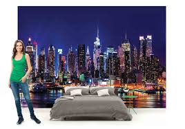 New York Bedroom Wallpaper New York Wall Mural Ebay