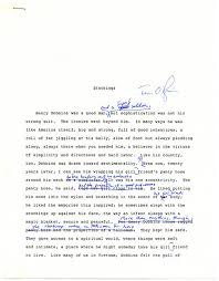 celebrating the twenty fifth anniversary of the things they manuscript page from stockings chapter of the things they carried hand corrected by tim o brien