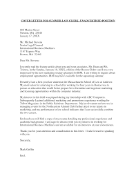 Cover Letter For Unadvertised Position Sample Guamreview Com