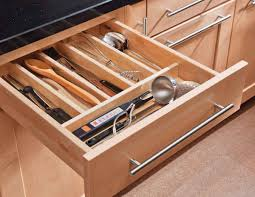 Kitchen Drawer Kitchen Killer Picture Of Pull Out Solid Oak Wood Cutlerly Drawer