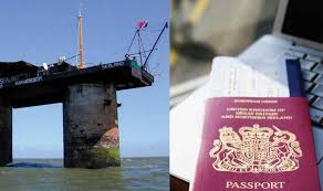 Of Sealand Wins uk Brexit World Trump Tiny co Principality Swamped And Express Applications News Passport By After