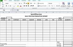 Sample Of Production Report Barca Fontanacountryinn Com