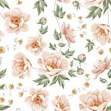 Floral Pattern Custom Floral Pattern Design Vector Premium Download