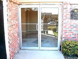 astounding double glass entry doors glass front door for business business front doors business front doors